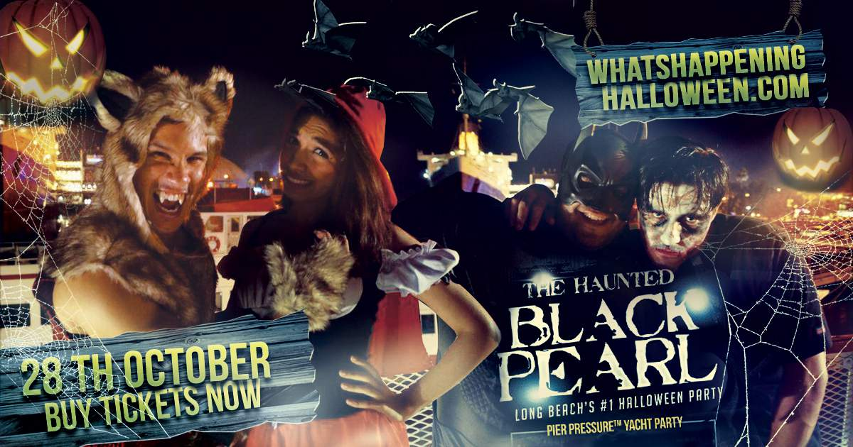 Long beach halloween yacht party cruise 2017 tickets for King s fish house long beach ca