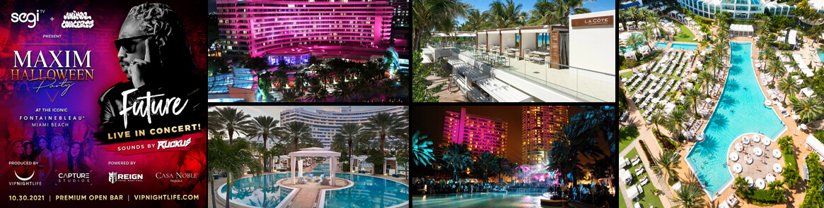 Fontainebleau Miami Beach Hotel Halloween Party